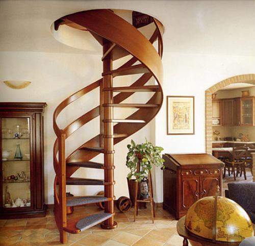 сделать винтовую лестницу самостоятельно