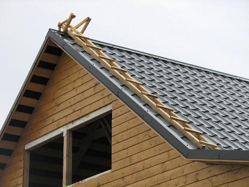 Приставные лестницы для крыши