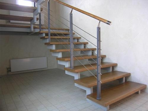 лестница из металла своими руками