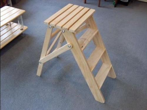 деревянная лестница-стремянка своими руками