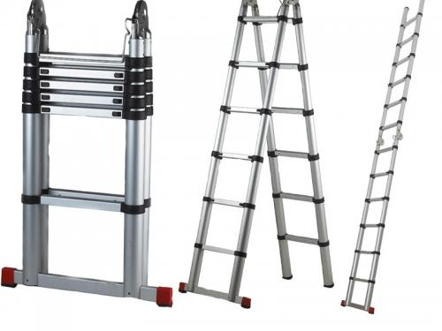Телескопическая лестница стремянка трансформер