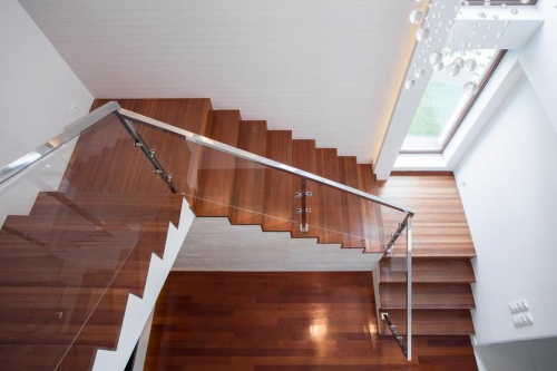наклон лестницы