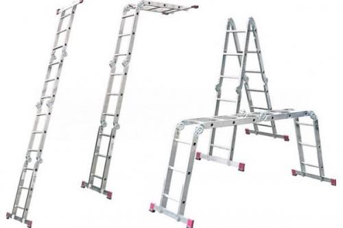 четырехсекционные лестницы-трансформеры