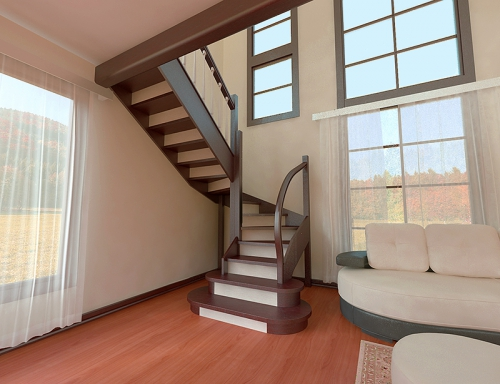 п-образные лестницы