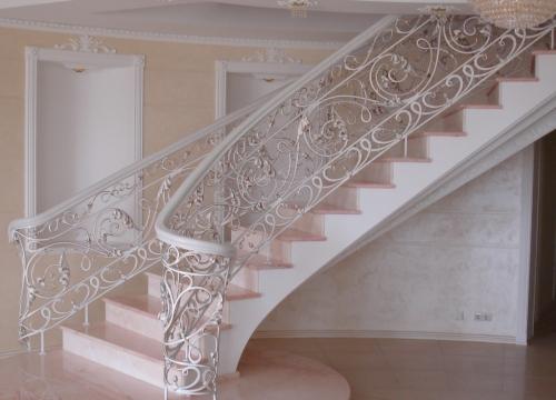 перила для бетонной лестницы