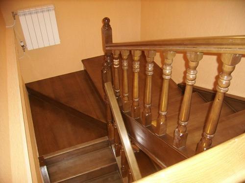 расчет лестницы с площадкой